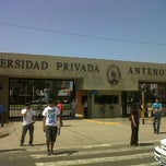 Photo taken at Universidad Privada Antenor Orrego UPAO by Junior P. on 3/8/2012