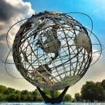 Photo taken at The Unisphere by Graham L. on 8/23/2012