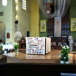 Photo taken at St Patrick's Catholic Church by Helen S. on 4/8/2012