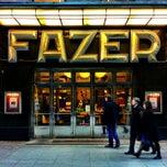 Photo taken at Karl Fazer Café by Fredrik S. on 3/15/2013