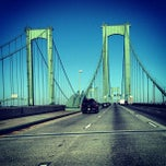 Photo taken at Delaware Memorial Bridge by Igin I. on 3/29/2013