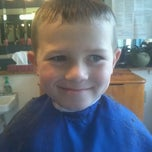 Photo taken at May's Barber Shop by Geo G. on 9/15/2012