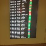 Photo taken at Terminal 1 by Andrea R. on 1/9/2013