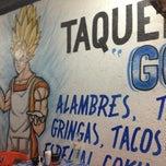 Photo taken at Taqueria Goku by Konfleis on 4/3/2012