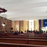 Photo taken at Parroquia Nuestra Señora del Carmen by Juan T. on 12/21/2012