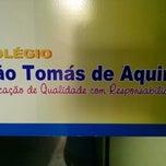Photo taken at Colégio São Tomás de Aquino by Daniel d. on 8/6/2014