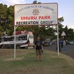 Photo taken at Uhuru Park by Dody P. on 9/8/2013