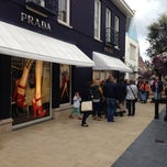 Photo taken at Prada Outlet by Iztok S. on 9/15/2013