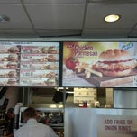 Photo taken at Burger King by Andrew P. on 10/6/2012