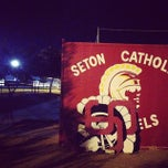 Photo taken at Seton Catholic Preparatory High School by Heather F. on 9/28/2013