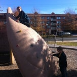 Photo taken at Mosaic Park by Kate S. on 11/23/2012
