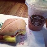 Photo taken at Starbucks by Sarah H. on 7/28/2013
