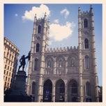 Photo taken at Basilique Notre-Dame by Eliel G. on 7/15/2013