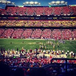 Photo taken at FedEx Field by Mike W. on 8/24/2013