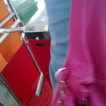 Photo taken at Halte TransJakarta Ancol by Pandu R. on 12/7/2013