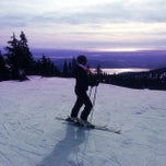 Photo taken at Seymour Mountain by Esteban C. on 2/10/2014