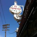 Photo taken at Manuel's Original El Tepeyac Cafe by Thomas H. on 10/13/2012
