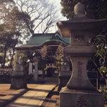 Photo taken at 駒繋神社 by Toru M. on 1/11/2015