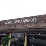 Photo taken at Adisutjipto International Airport (JOG) by Arif B. on 5/24/2013