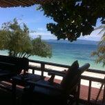 Photo taken at Sarikantang Resort & Spa, Koh Phangan by Adam S. on 9/18/2012