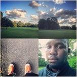 Photo taken at Watsessing Park Running Track by Mutinda K. on 6/9/2013