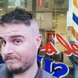 Photo taken at Raphael's Barber Shop by Phil R. on 5/12/2015