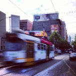 Photo taken at Tram Stop 13 - Federation Square (3/3a, 5, 6, 16, 64, 67, 72) by Lee A. on 10/9/2012