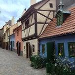 Photo taken at Zlatá ulička | The Golden Lane by Ana K. on 10/3/2012