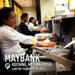 Photo taken at Maybank by Little Brat™ on 2/20/2013