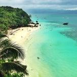 Photo taken at Diniwid Beach, Boracay by Anna Q. on 12/30/2012