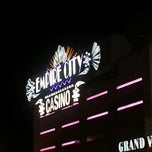 Photo taken at Empire City Casino Yonkers Raceway by Maggie C. on 11/30/2012