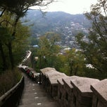 Photo taken at 남산 성곽산책로 by HY K. on 10/25/2012