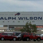 Photo taken at Ralph Wilson Stadium by Rick N. on 8/10/2012