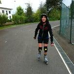 Photo taken at Skatepark Eeklo by Dieter v. on 5/7/2012