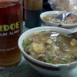 Photo taken at Soto Sore Daging Sapi by alonrider on 3/24/2012
