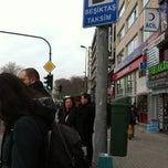 Photo taken at Beşiktaş - Taksim Dolmuş Durağı by Ece Ş. on 1/18/2012