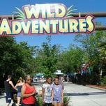 Photo taken at Wild Adventures Theme Park by Tamiko P. on 4/5/2012