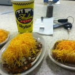 Photo taken at Skyline Chili by Christian S. on 4/14/2012