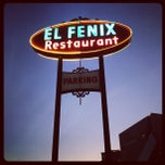 Photo taken at El Fenix Restaurant by Carolina W. on 2/1/2012