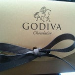Photo taken at Godiva Chocolatier by German S. on 2/14/2012