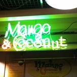 Photo taken at Mango & Coconut Juice Bar by Stefanie W. on 3/12/2012