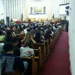 Photo taken at Primeira Igreja Batista em Arraial do Cabo by Leone F. on 12/4/2011