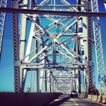 Photo taken at Outerbridge Crossing by Lana W. on 7/25/2012