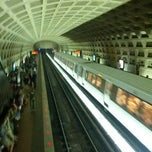 Photo taken at Pentagon Metro Station by J V. on 6/15/2012