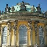 Photo taken at Schloss Sanssouci by Janine S. on 5/2/2012