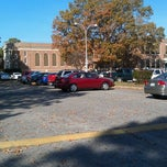 Photo taken at WSE Student Parking Lot by Tyler G. on 11/14/2011
