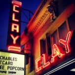 Photo taken at Clay Theatre by Sam S. on 7/21/2012