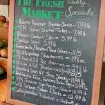 Photo taken at Fresh Market by Jason C. on 7/11/2012