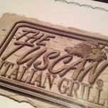 Photo taken at Tuscan Italian Grill-Abingdon by Frank G. on 4/12/2012