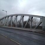 Photo taken at Pont Comines France/Belgique by Kevin C. on 2/14/2012
